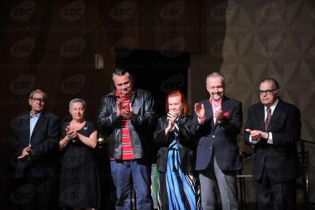 Cerimônia na Sala Cecília Meireles em comemoração aos 50 anos do Museu da Imagem e do Som (MIS) faz homenagem a artistas, servidores e dirigentes (Fernando Frazão/Agência Brasil)